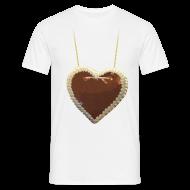 T-Shirts ~ Männer T-Shirt ~ Rummel-Herz für eigenen Text