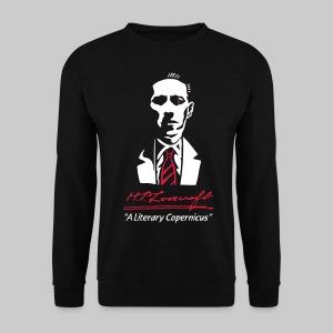 MPU1: H.P. Lovecraft Portrait - Literary Copernicus (bicoloured) - Men's Sweatshirt