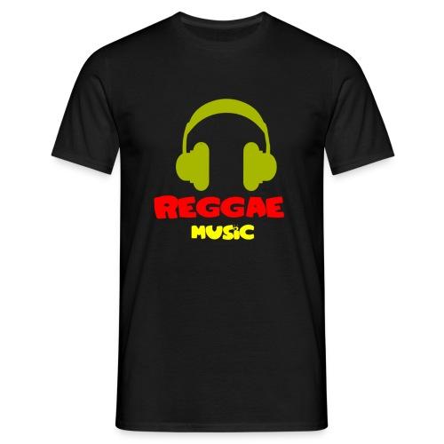 Reggae music  - Koszulka męska