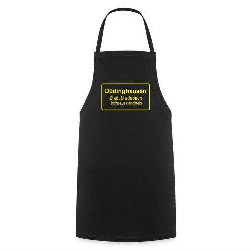 Koch- Grillschürze:Ortsschild - Kochschürze