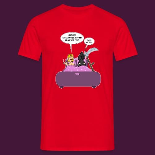 Der Tod kommt - Männer T-Shirt