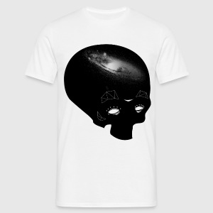 Galaxy Skull (men) - T-shirt Homme