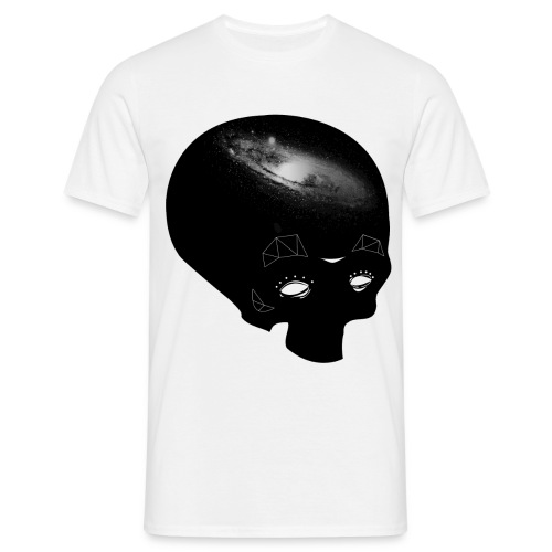 Galaxy Skull (men) - Men's T-Shirt