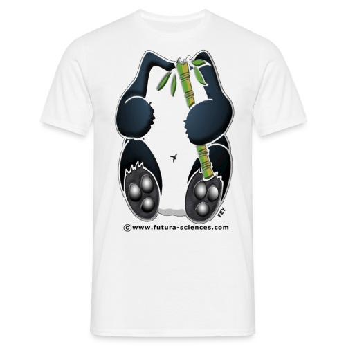 Panda homme blanc - T-shirt Homme