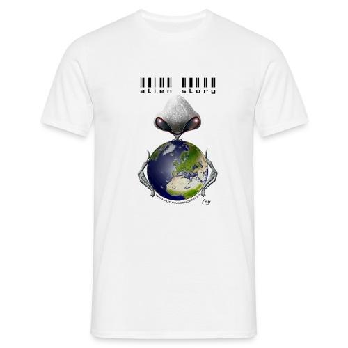 Alien Story - blanc - T-shirt Homme