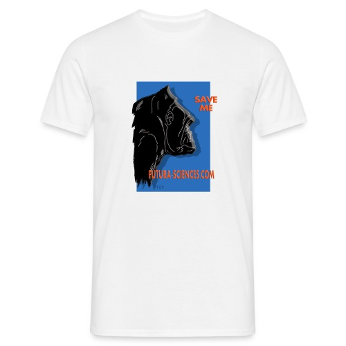 Save gorille homme blanc - T-shirt Homme