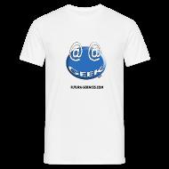 Tee shirts ~ Tee shirt Homme ~ Geek arobase blanc