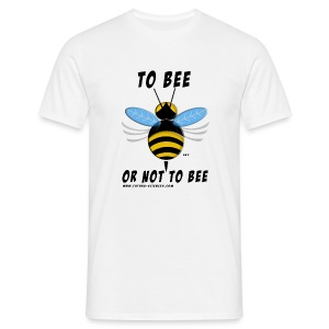 Abeille to bee blanc - T-shirt Homme
