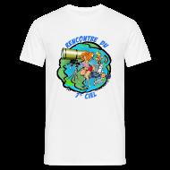 Tee shirts ~ Tee shirt Homme ~ 7ème ciel - blanc