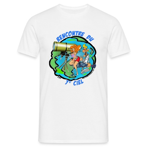 7ème ciel - blanc - T-shirt Homme