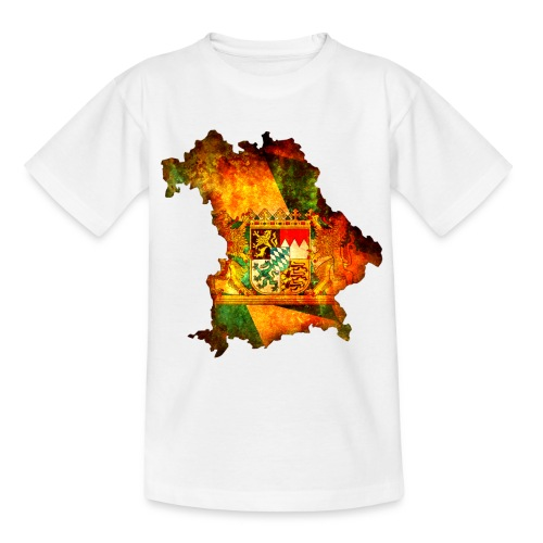 Bayernkarte - Teenager T-Shirt