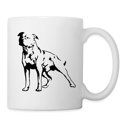 staffordshire bull terrier mug - Mug