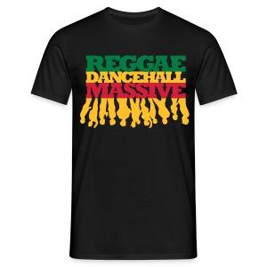 Reggae Dancehall Massive - Männer T-Shirt