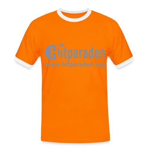 Hitparaden Glitzer T-Shirt Beideitig - Männer Kontrast-T-Shirt