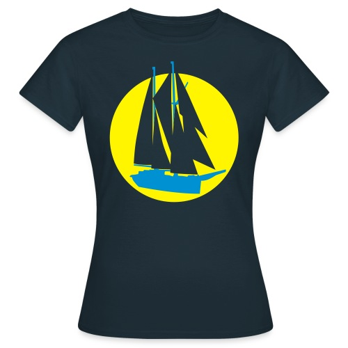 Segelsonne - Frauen T-Shirt