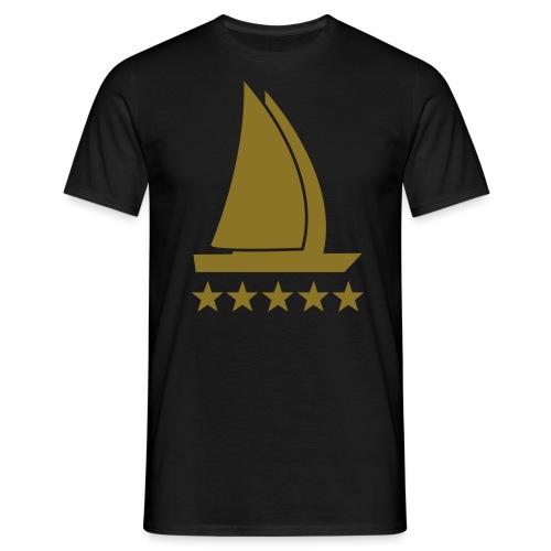 5 Sterne - Männer T-Shirt