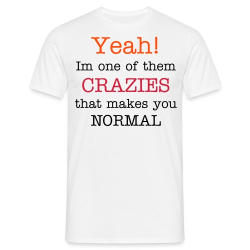 Crazies(male) - Men's T-Shirt