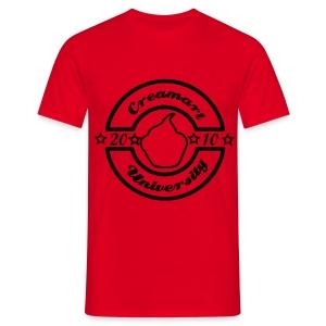 T-shirt Creamart University Homme - T-shirt Homme