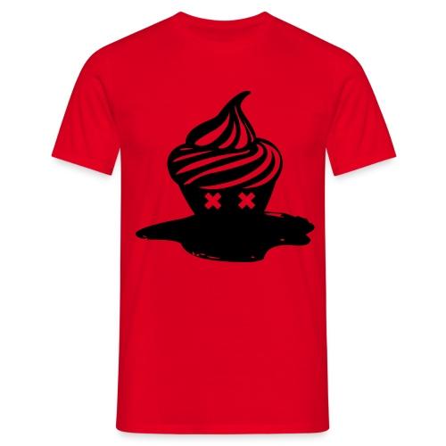 T-shirt Dead Cupcake Homme - T-shirt Homme