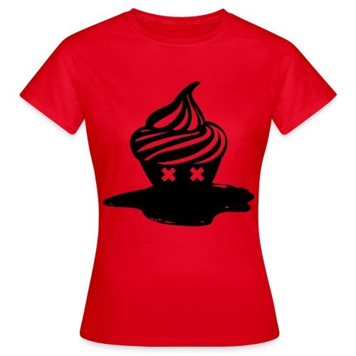 T-shirt Dead Cupcake Femme - T-shirt Femme