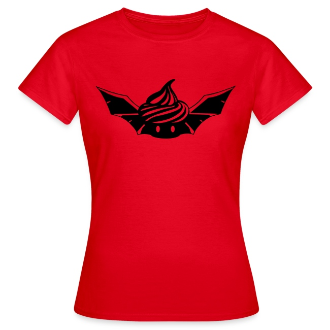 T-shirt Bat Cupcake Femme