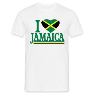 I LOVE JAMAICA - T-shirt Homme