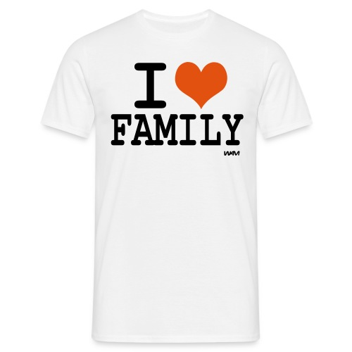 I LOVE FAMILY - T-shirt Homme