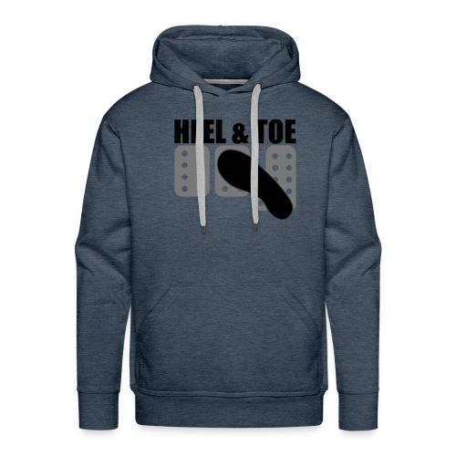 Men's Hoodie Heel & Toe Design - Men's Premium Hoodie
