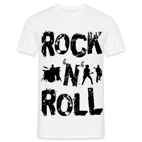 Rock 'N' Roll T-Shirt - Men's T-Shirt