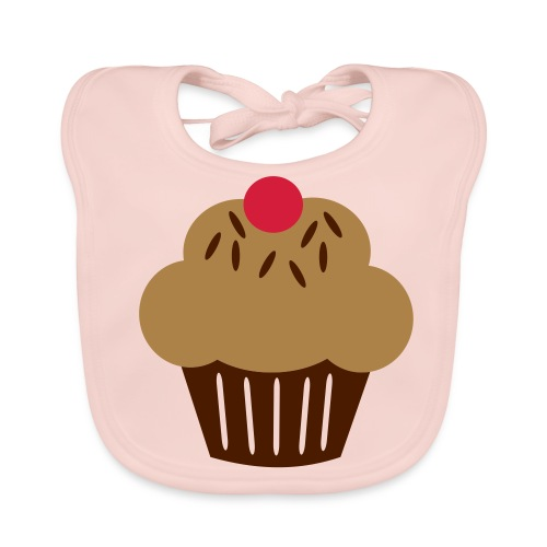 her little cupcake - Baby Organic Bib