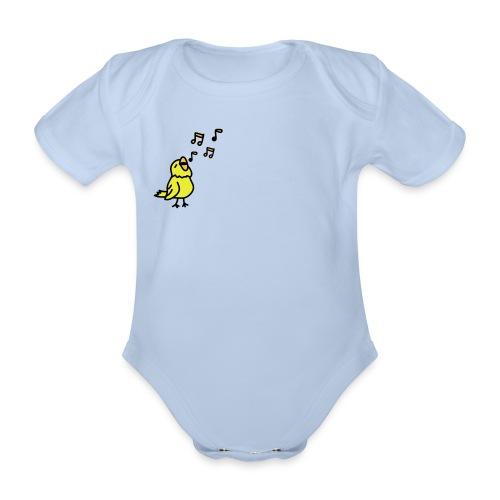 duckie - Organic Short-sleeved Baby Bodysuit