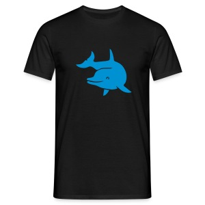 t-shirt delphin delfin dolphin wal orka orca flipper - Männer T-Shirt