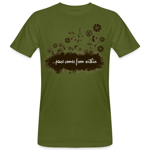 Men's Peace From Within T-shirt - Men's Organic T-Shirt