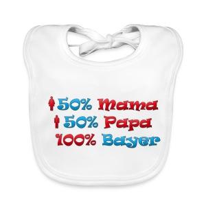 50% Mama 50% Papa 100% Bayer - Baby Bio-Lätzchen