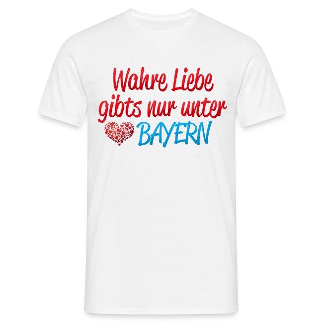 Wahre Liebe gibts nur unter Bayern
