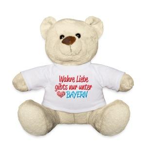 Wahre Liebe gibts nur unter Bayern - Teddy