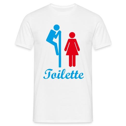 Toilette - Männer T-Shirt