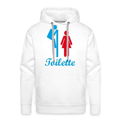Toilette - Männer Premium Hoodie