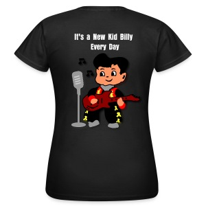 Kid Billy sings Rockabilly - Women's T-Shirt