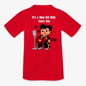 Kid Billy sings Rockabilly - Teenage T-shirt