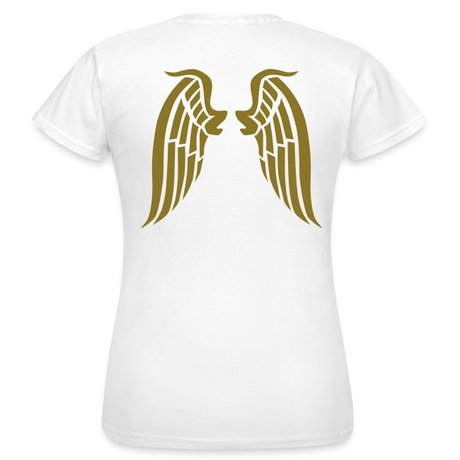 Ayresome Angel - Gold wings