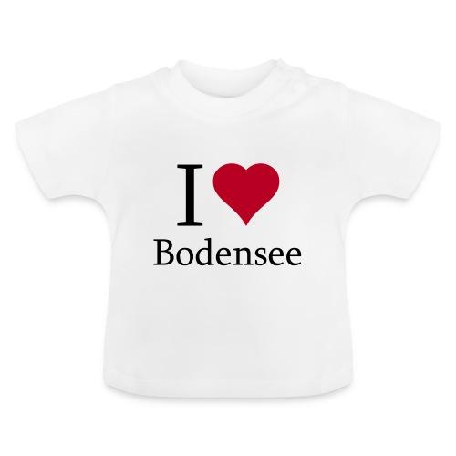 Damen T-Shirt I love Bodensee - Baby T-Shirt