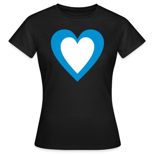 Heart within a heart within a tee - Women's T-Shirt