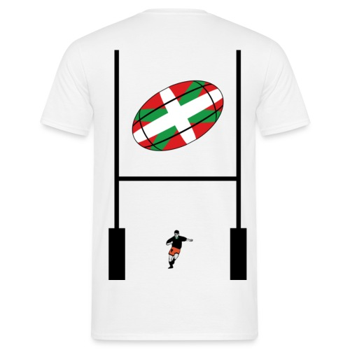 t-shirt rugby basque - T-shirt Homme