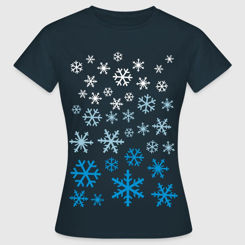 lots of snowflakes t shirt spreadshirt. Black Bedroom Furniture Sets. Home Design Ideas