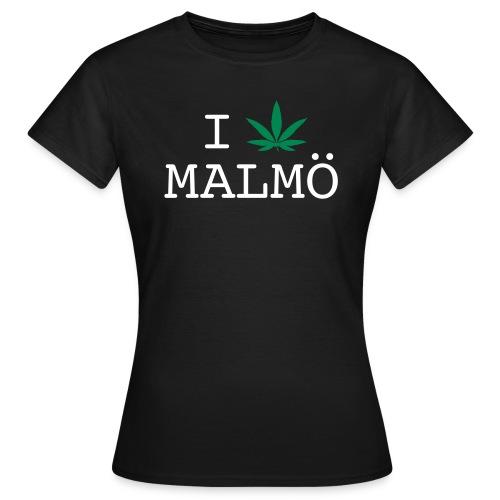 I löv Malmö - Women's Tee - T-shirt dam