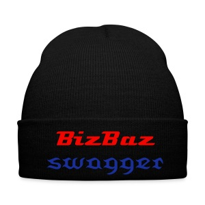 BizBaz swagger red and blue  - Winter Hat