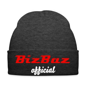 BizBaz official hat Red and White - Winter Hat