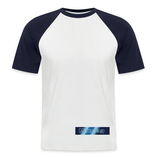 Kortermet baseball skjorte for menn - For Mondays