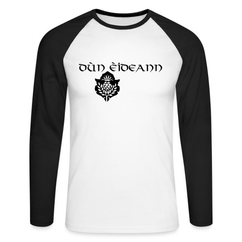 Dún éidean - Men's Long Sleeve Baseball T-Shirt